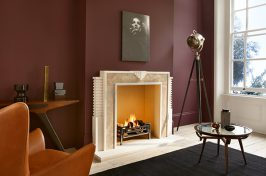 barbara hulanicki fireplace