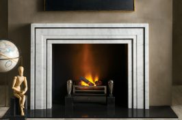 ealing contemporary fireplace