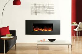 electric tunnel fireplace