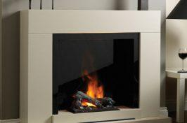 electric fireplaces for kitchens