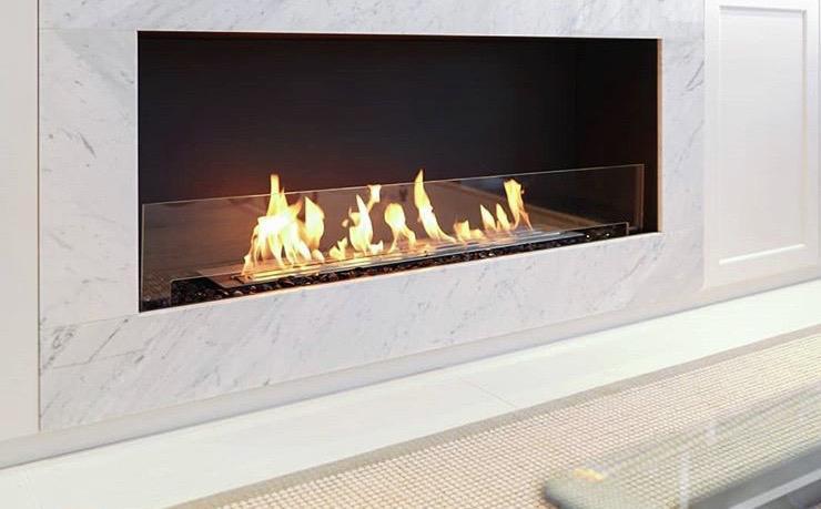 Ethanol Fires Altrincham, Ethanol Burning Fireplace